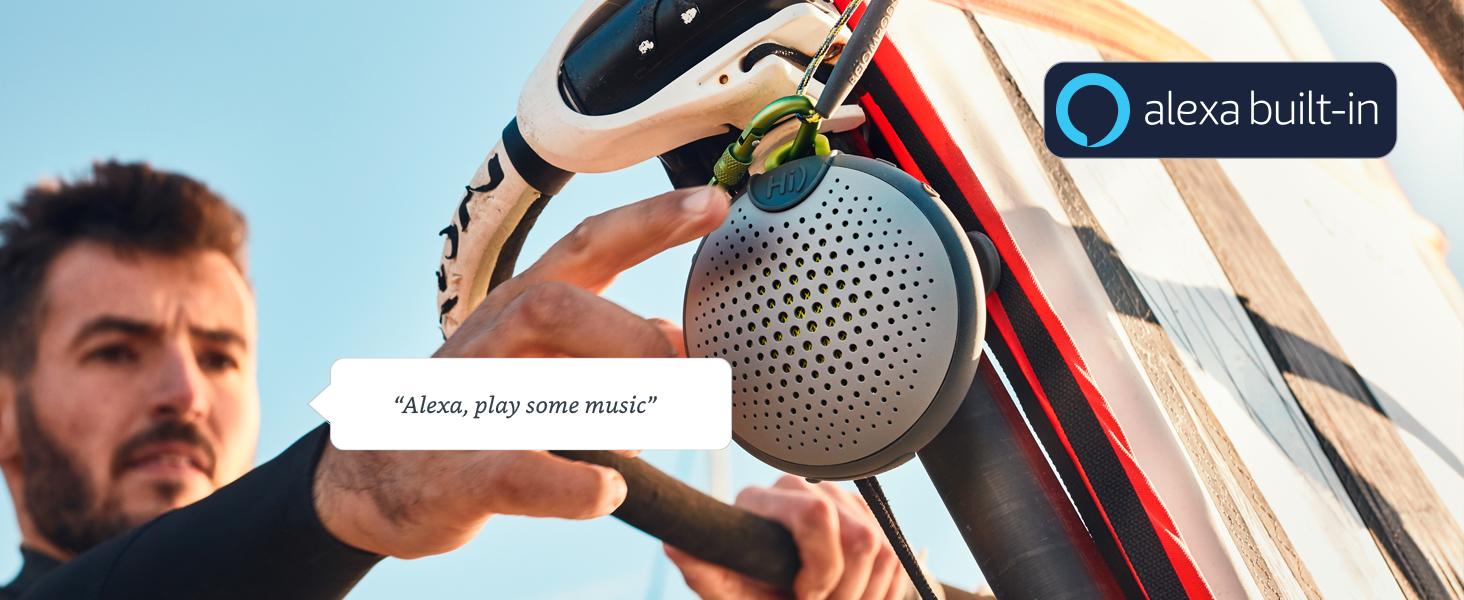 waterproof rugged alexa speaker