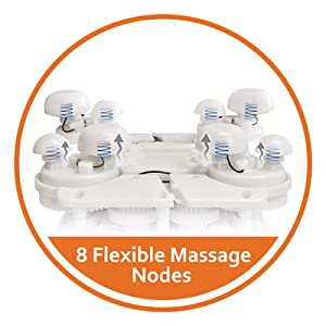 flexible shiatsu massage nodes