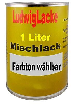 Ludwig Lacke 1 Liter Unverdünnter Basislack Autolack In Wunschfarbe Auto