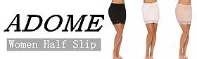ADOME HALF SLIP DRESS