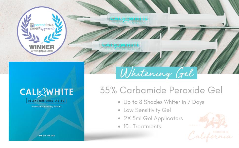 Cali White Teeth Whitening Gel