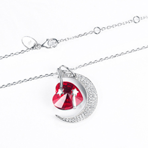 Birthday Gifts for Wife July Birthstone Necklace