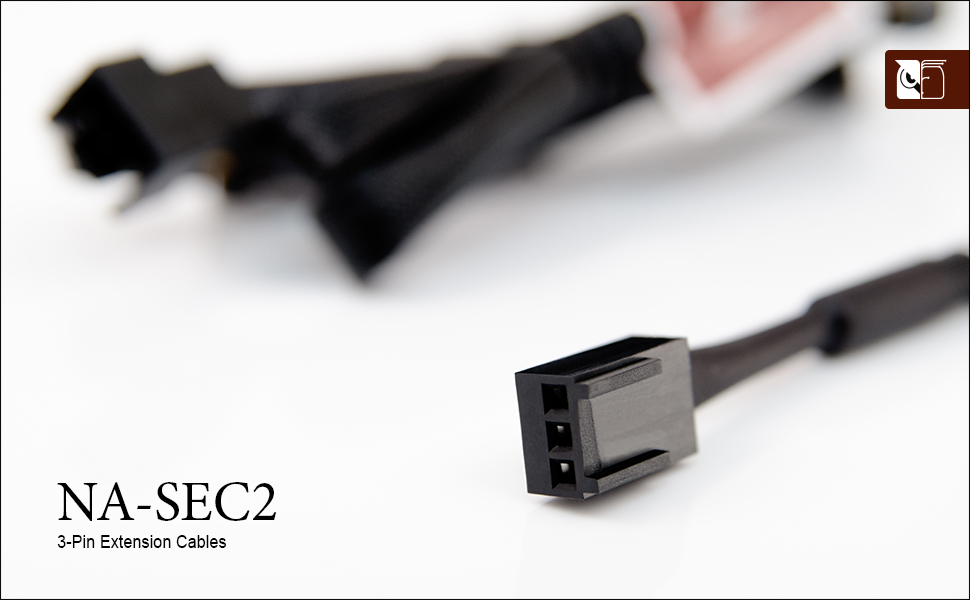 Noctua NA-SEC2, Cables Alargadores de 3 Pines para Ventiladores ...