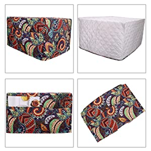Fine Workmanship & Mandala Print& Two Accessories Pocket &Easy To Store