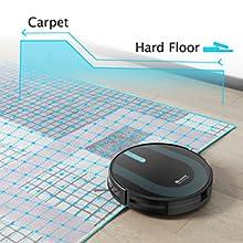 V-boost carpet detection