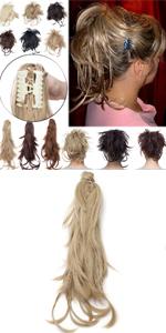 Bendable Hair Ponytail