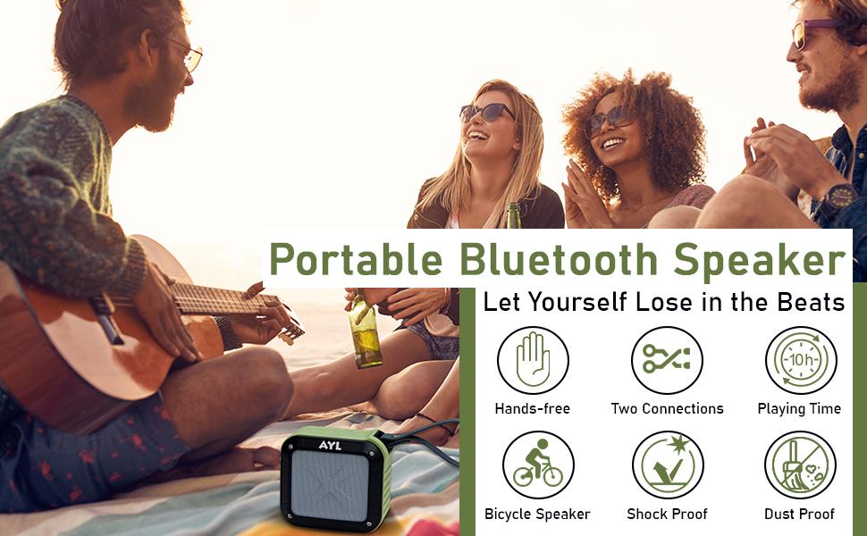 Portable Wireless Shower Speaker