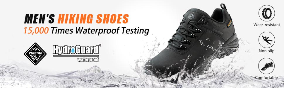 Wantdo Waterproof Hiking shoes