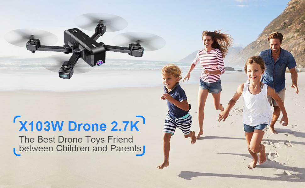 SANROCK X103W Drones for kids