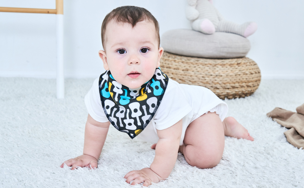 Bibs with Velcro irritate your baby's skin?
