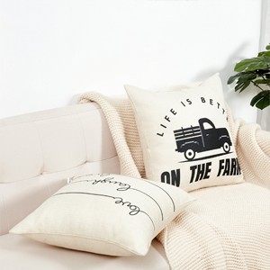 black pillow covers c