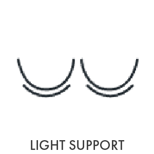 seamless design comfort stretchy soft durable light support lightweight padded removable padding