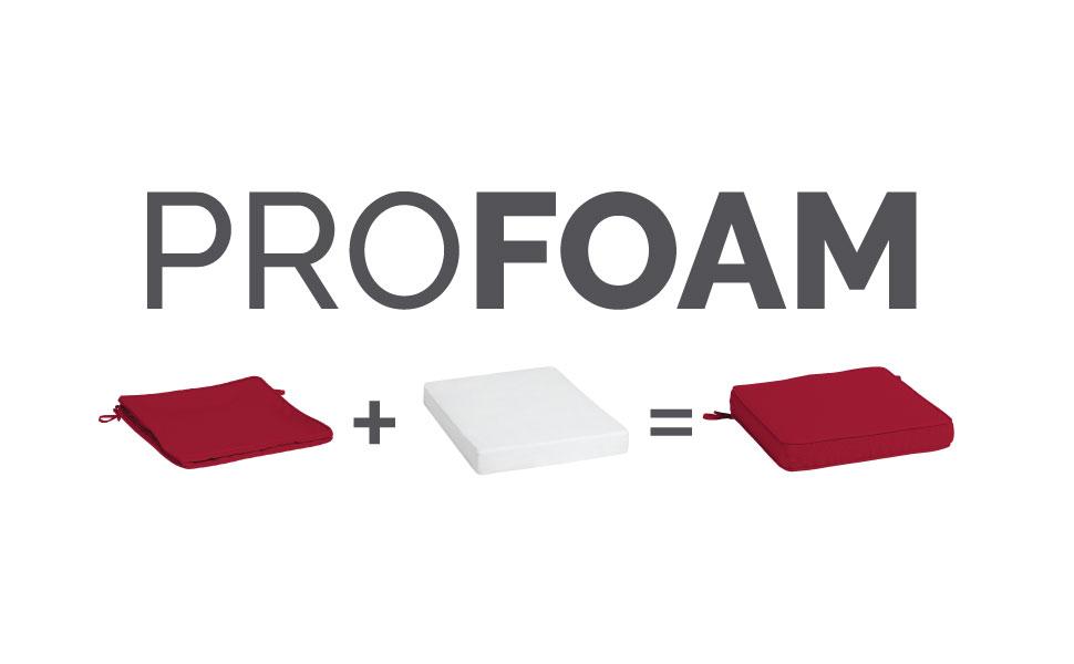 Arden ProFoam Outdoor Cushion assembly