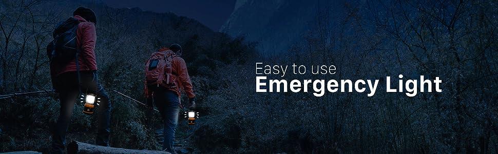 emergency light and lantern