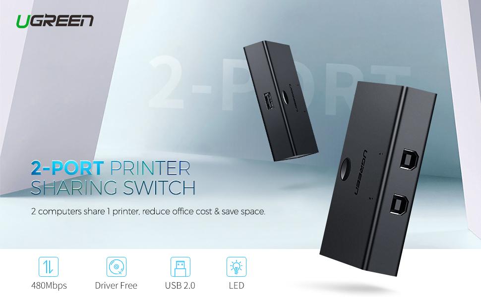 UGREEN USB Sharing Switch USB 2.0