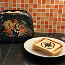captain marvel two slice toaster