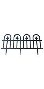 Abba Patio Gothic Arch Garden Fence