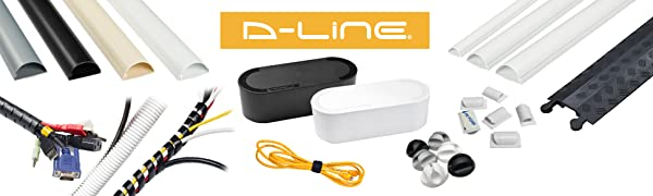 D-Line Cable Clips and Cord Organization products