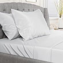 linen pocket polyester pure retain satin sensitive skin set sets sleep sleeping
