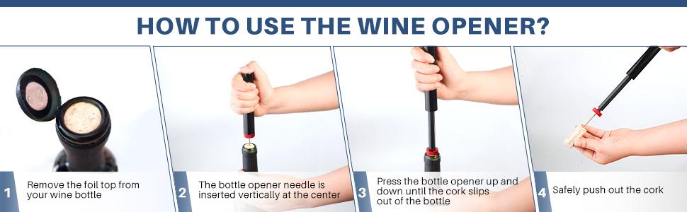 cork screw wine bottle openers