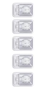 12V LED RV Ceiling Lights Light Motorhome Trailer interior LED Lights Single dome LED White light