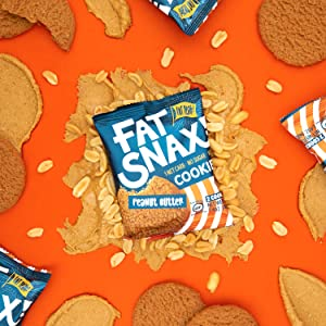 fat snax keto peanut butter cookies ketogenic low carb delicious treats for snack