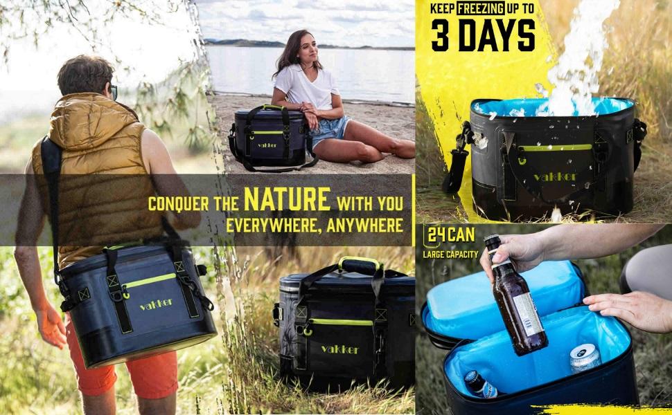 soft cooler bag portable cooler  picnic cooler backpack cooler