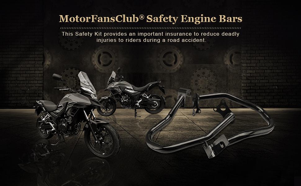US Highway Engine Guard Crash Bars Protector for Yamaha V Star XVS950 Bolt XV950