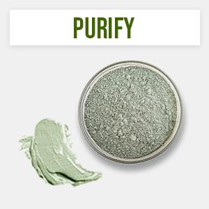 marine superfood clay mask detox vegan natural organic avocado spinach superfoods