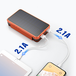 2 High-Speed Charging Ports