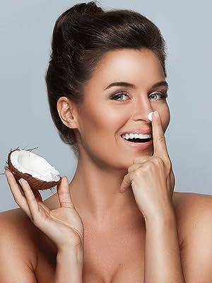 Coconut Oil, cleanser, moisturizer, UV Protection, burns, eczema, dermatitis, psoriasis