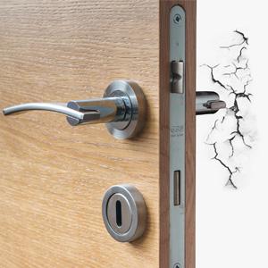 big cabinet soft button stop doorknob prevent damage wall hit break sound noise door knob reduce