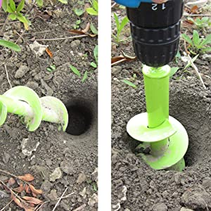 auger drill bit for planting