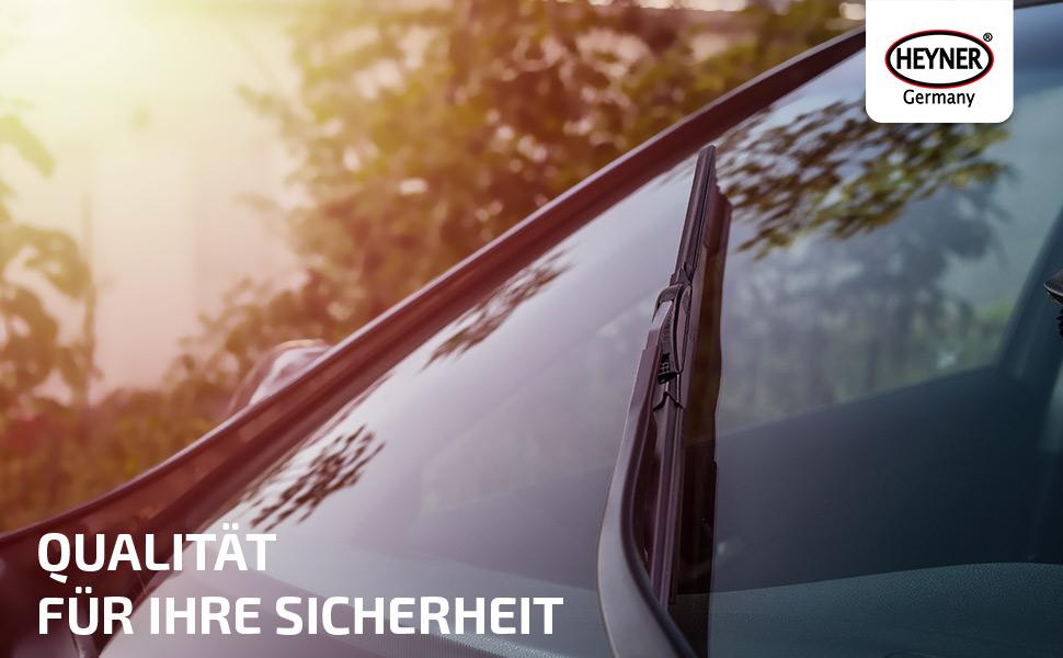 Heyner Germany Scheibenwischer Set Hybrid Rifter Bj 18 20 Nano Graphit Technologie Auto