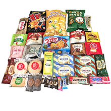 DELUXE ASIAN SNACK BOX