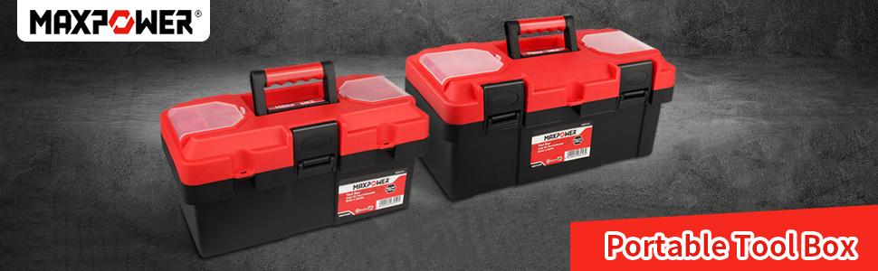 MAXPOWER small tool box 16 inch