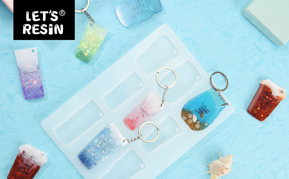 Small inspired 20oz tumbler keychain silicon mold