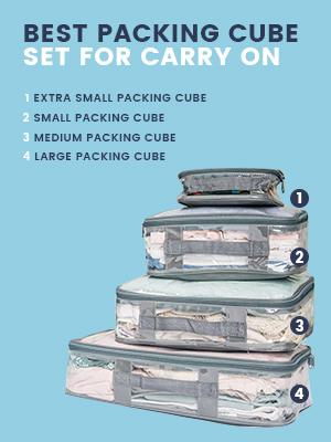 Starter Set of packing cubes