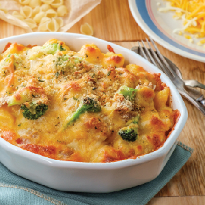 Snack House Puffs Nacho Cheese Macaroni & Cheese Casserole