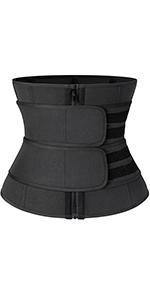 Women Neoprene Waist Trainer Corset Sauna Sweat Belt Workout Fitness Compression Waist Cincher