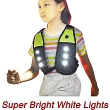 reflective running vest for kids