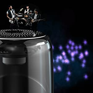 surround stereo  [2 Pack] Bluetooth Portable Speaker, True Wireless Stereo Speakers, Crystal Clear Stereo Sound, Rich Bass, 100 Ft Wireless Range, Microphone, LED Light Show, TF Card, Aux in, Mini Small Pocket Size¡ d7afb5f5 c878 4b76 8299 20c24bb342bb