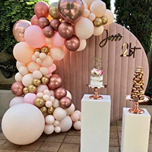 rose gold balloons,pink balloons