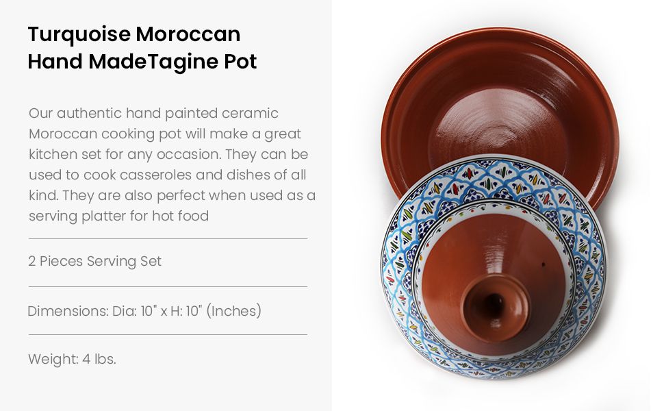 tangine cooker red ceramic moroccan clay