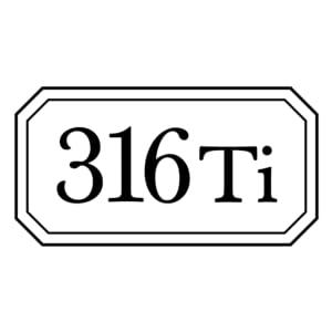 316ti titanium cookware