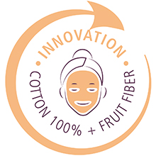 100% Katoen + Fruitvezels