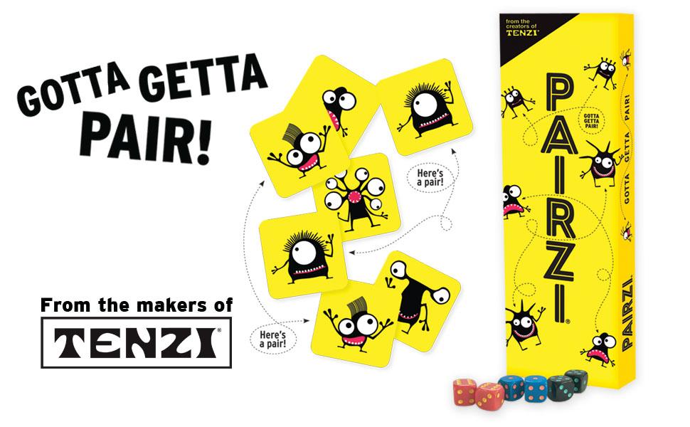 tenzi pairzi 77 ways game card game