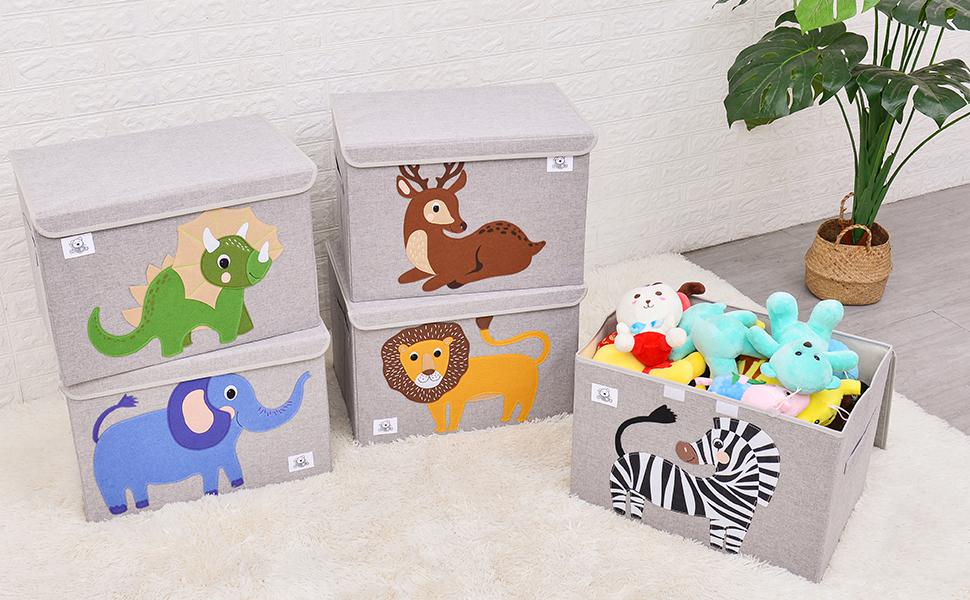 storage toy chest for kids cube organizer