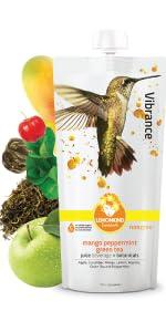 Aplhonso Mango Peppermint Detox Juice with Green Tea antioxidants Natural energy