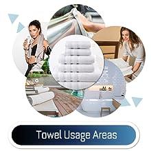 Towel usage